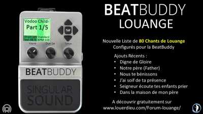 BeatBuddy 80 Chants de Louange