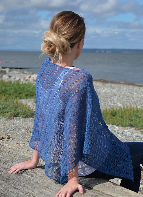 Gorgeous and easy summer knit. Maybe my next project? #linen #knitting #summerknits #euroflax