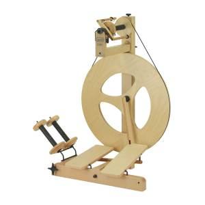 Double Treadle Louet Spinning Wheel
