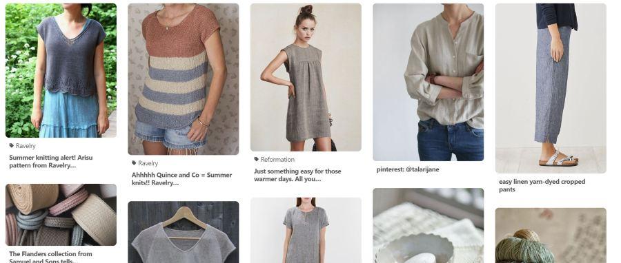 Linen board on Pinterest