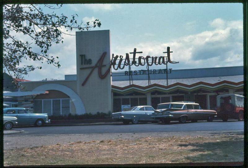 The Aristocrat restaurant, c. 1960