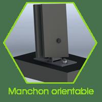 manchon-orientable