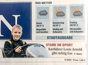 Titel der Ausgabe des Mannheimer Morgens vom 16.05.2018