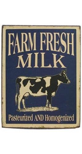 Farm Fresh Milk Vintage Sign