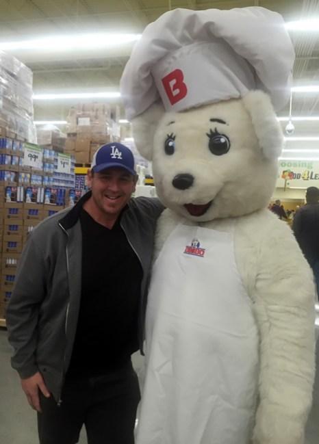 Scott with Bimbo