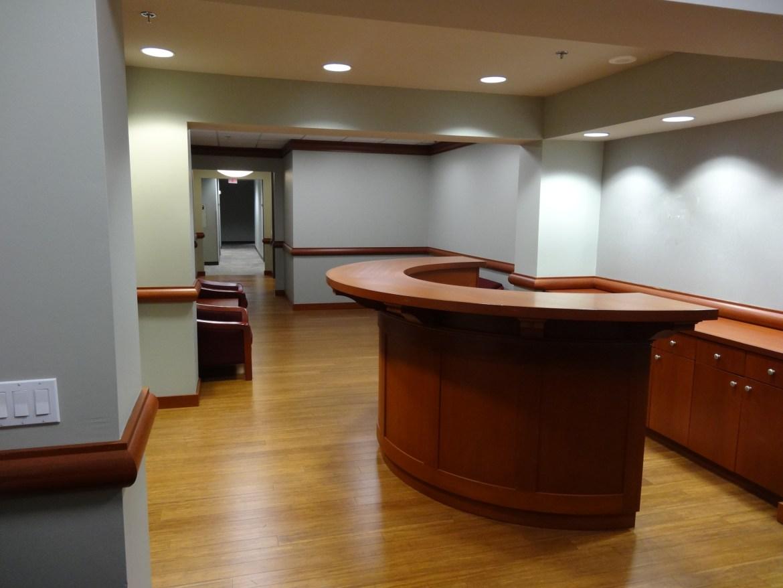 floor 20 reception area