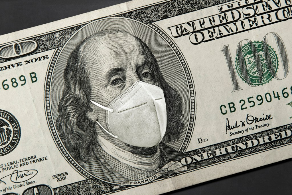 DOLLAR IN MASK