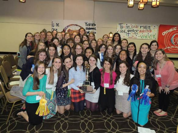 St. Joseph's wins the coveted Torch this year at convention