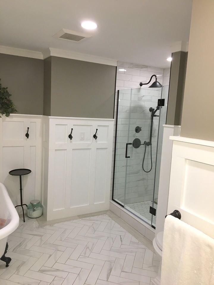 elegant and timeless bathroom