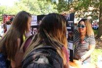Studens lean about Women 4 Women Student Board. Photo by Ali Davis