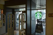 The new Starbucks replaces local favorite, Heine Bros.