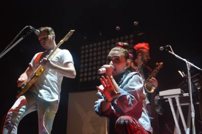 Panic! At The Disco's second opening act, Misterwives