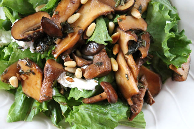 warm-mushroom-goat-cheese-and-pinenut-salad-close-up