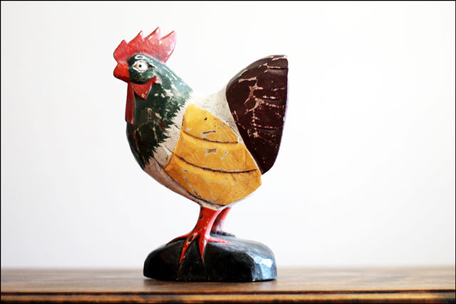 wooden-rooster