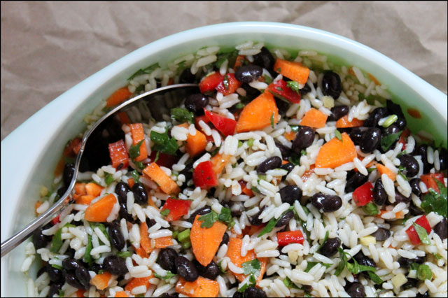 black-bean-and-rice-salad