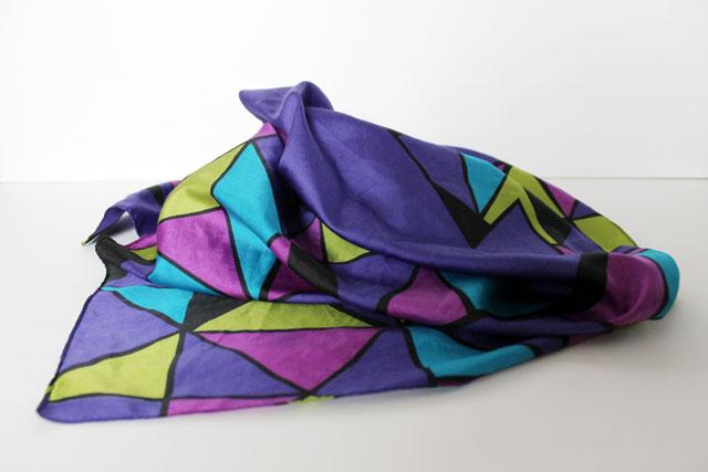 thrifted-silk-scarf