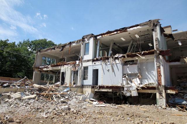bluebird-building-partially-torn-down