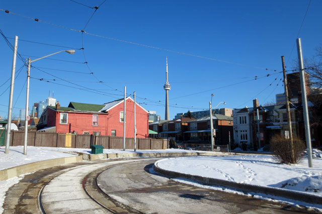 streetcar-short-turn toronto