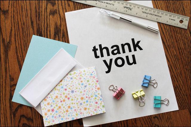 supplies-to-make-thank-you-