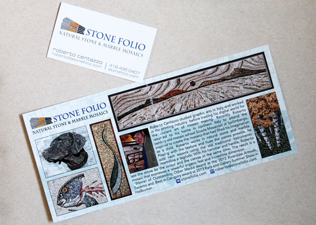 stone-folio-card-and-brochure-from-queen-west-art-crawl-2014