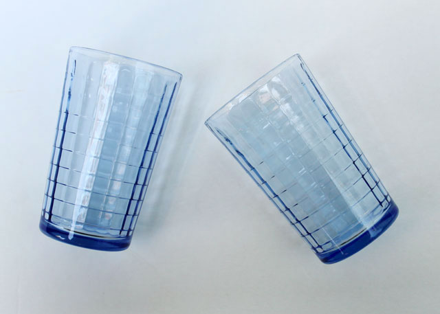 thrifted-blue-pressed-glass-small-drinking-glasses-02