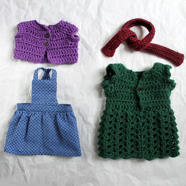 handmade-doll-clothes-crochet-and-sewn