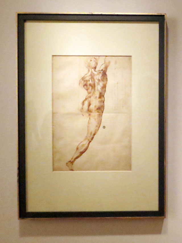 michelangelo-drawing-at-ago-january-2015