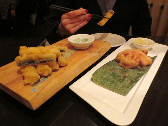 zucchini-fritters-and-tomato-fritters-at-ryoji-toronto