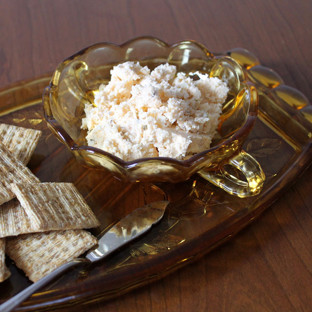 cheese-spread-for-parties-hungarian-with-caraway-capers-and-paprika