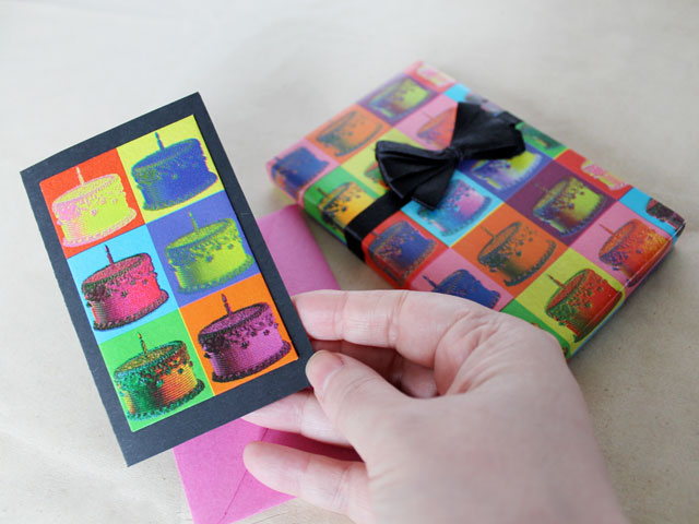 handmade-birthday-card-made-with-matching-gift-wrap-matching