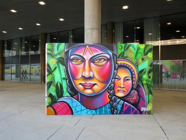 painting-outside-city-hall-toronto