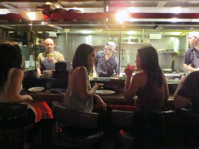 chef-and-sous -chefs-at-valdez-restaurant-toronto-king-street-west-latino-street-food