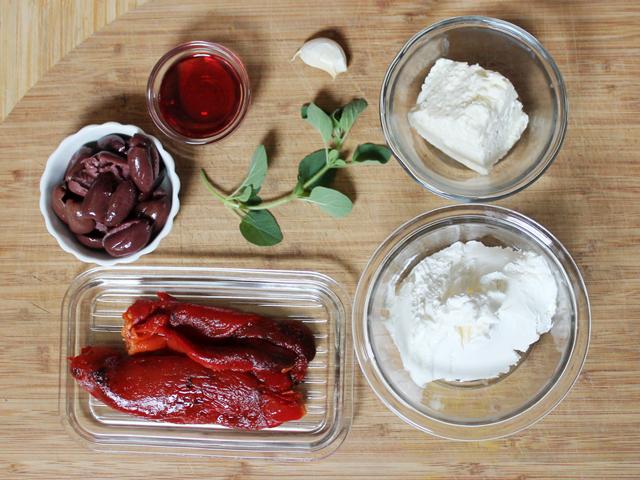 ingredients-to-make-roasted-red-pepper-dip