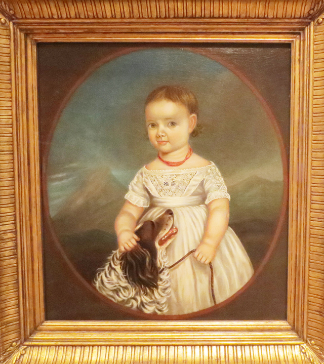 florence-eakins-by-robert-reginald-whale-painting-at-art-gallery-of-ontario-toronto-ago