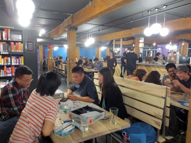 playing-board-games-at-snakes-and-lattes-cafe-toronto