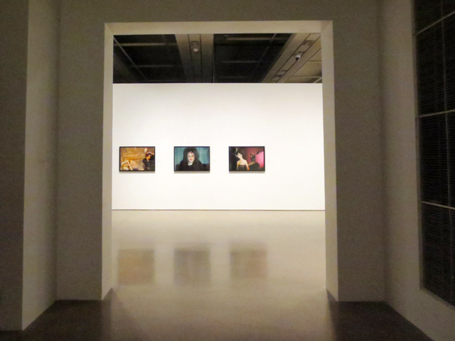 entering-nan-goldin-section-at-ago-outsiders-american-photography-and-film-exhibit-#outsidersAGO