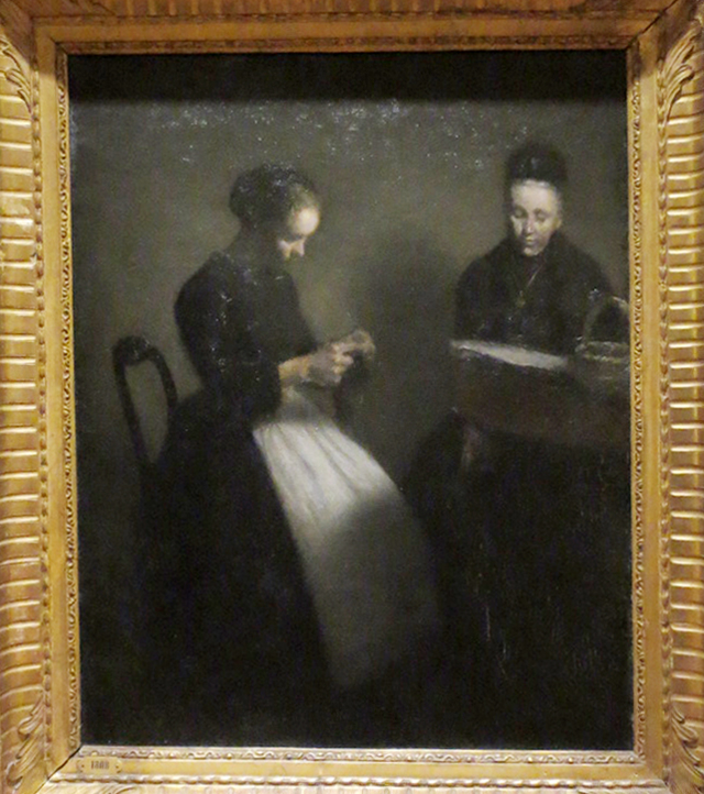 evening-in-the-drawing-room-painting-by-vilhelm-hammershoi