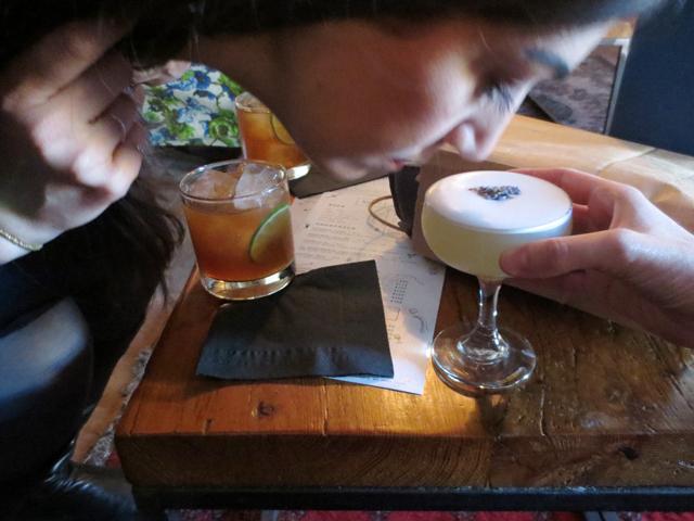 smelling-lavender-cocktail