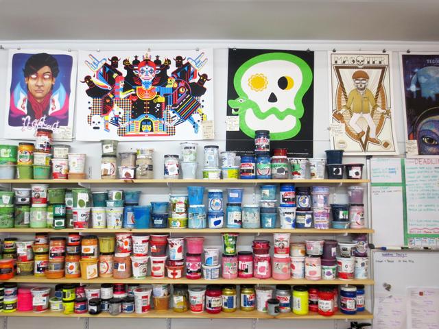 kid-icarus-screen-printing-shop-inks-and-posters-kensington-market-toronto