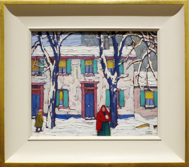 lawren-harris-painting-winter-in-the-ward-on-display-at-steve-martin-curated-exhibit-the-idea-of-north-ago-toronto