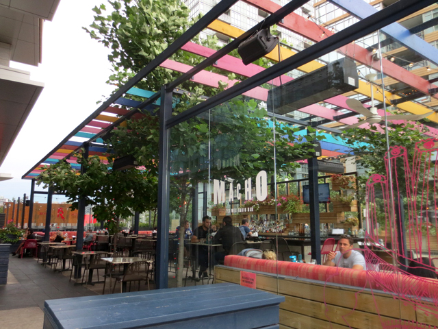 Macho Radio Bar Fort York Boulevard Toronto TexMex Restaurant
