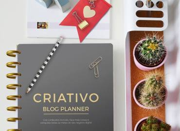 CRIATIVO Blog Planner