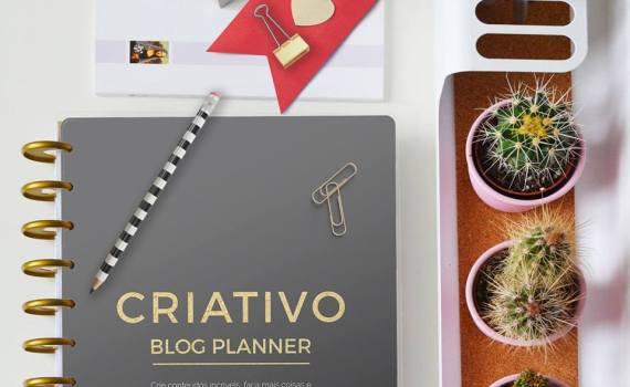 CRIATIVO Blog Planner
