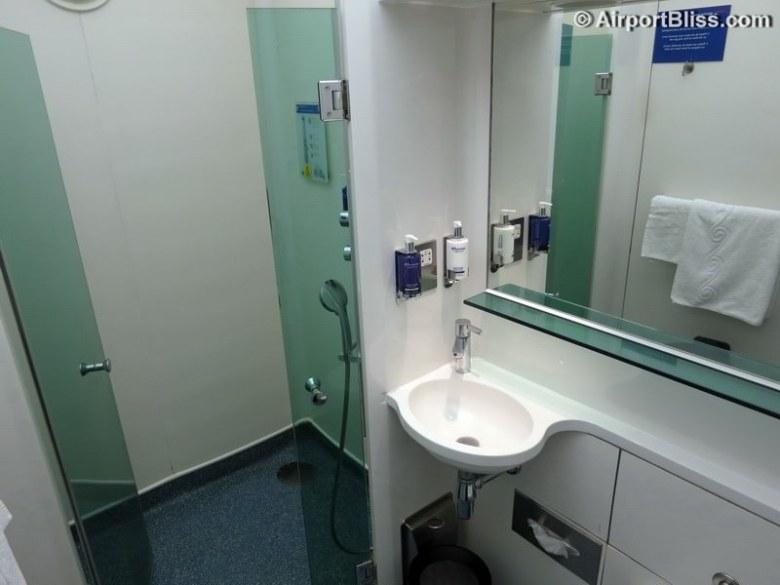 Image result for british airways lounge shower arrivals lhr hospital