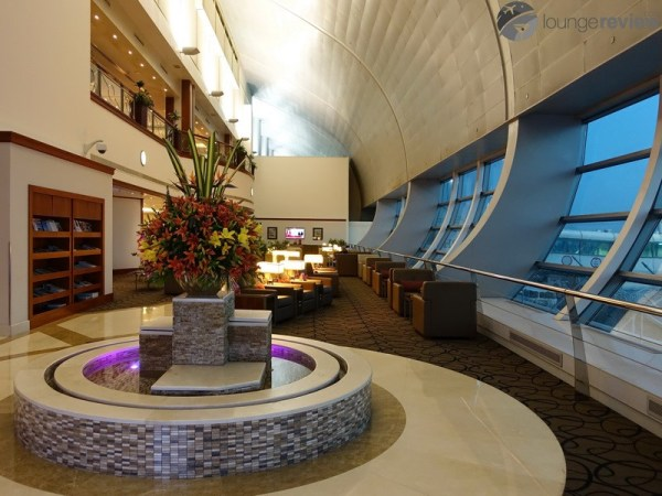 Lounge Review Emirates First Class Lounge DXB T1C