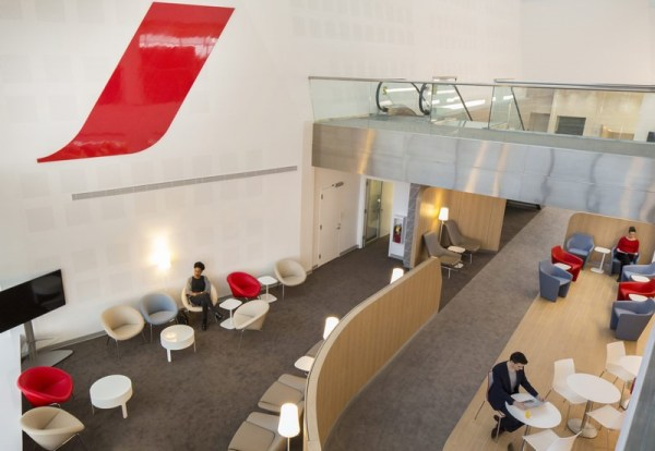 Lounge Review Air France Lounge JFK LoungeReviewcom