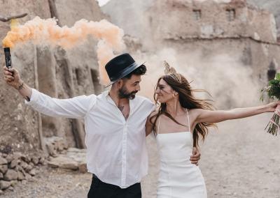 Alex & Lorena. Una preboda en el desierto