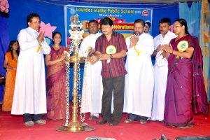 Rajasenan Inagruating School Anniversary Celebrations