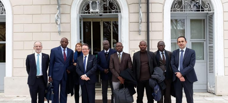 Une délégation sénégalaise reçue par la commune de Louveciennes