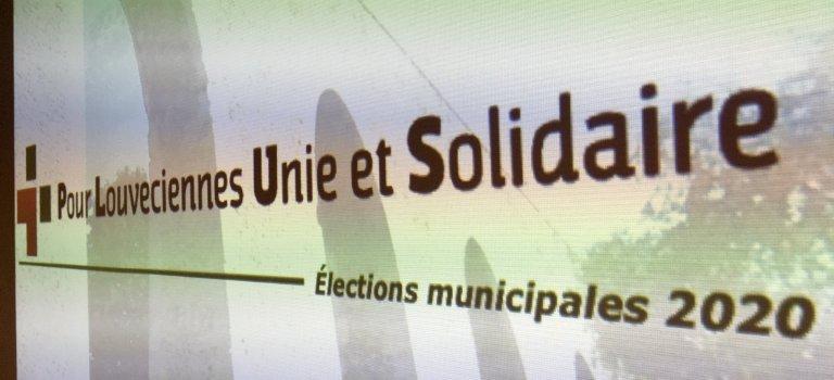 Municipales 2020 : lancement de la liste Pour Louveciennes Unie et Solidaire